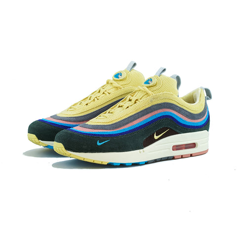 Nike - Air Max 1/97 VF SW (LT Blue Fury/Lemon Wash, Bleu CLR Electrique)