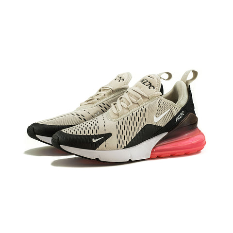 Nike - Air Max 270 (Black/Light Bone-Hot Punch)