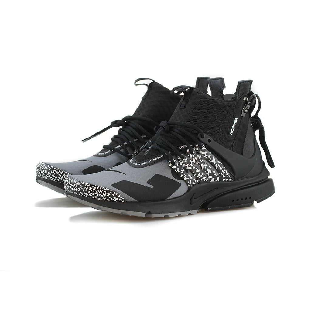 differently f25b9 b6b2c Nike - Air Presto Mid  ACRONYM (Cool GreyBlack) – amongst fe