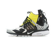 Nike - Air Presto Mid / ACRONYM (White/Black-Dynamic Yellow)