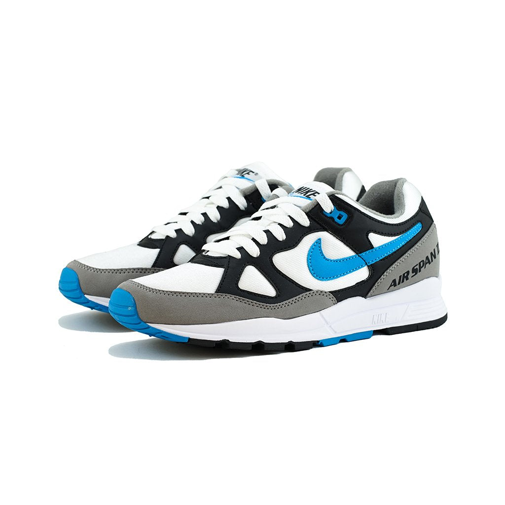 b9f0807eb2375 Nike - Air Span II (Black Laser Blue-Dust-White) – amongst few