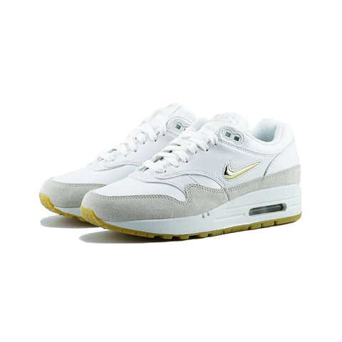 Nike - W Air Max 1 Premium SC (Summit White/Metallic Gold Star)