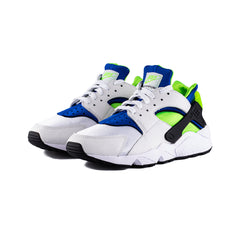 Nike - Air Huarache (White/Scream Green-Royal Blue)