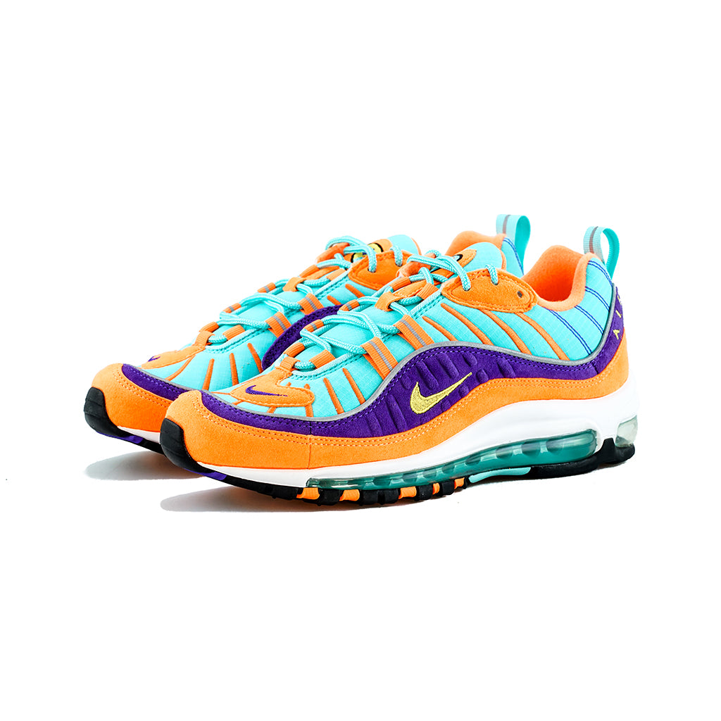 Nike Air Max 98 QS - Cone Tour Yellow-Hyper Grape) – amongst few 13deffbe6e