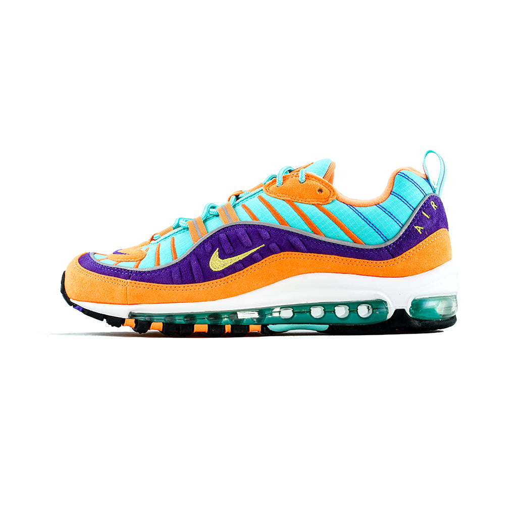half off f028a 7ed40 ... low cost nike air max 98 qs cone tour yellow hyper grape c49f7 eaab3 ...