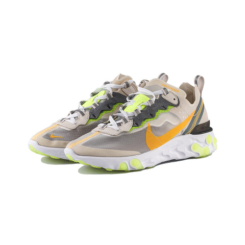 Nike - React Element 87 (LT Orewood BRN/Laser Orange)