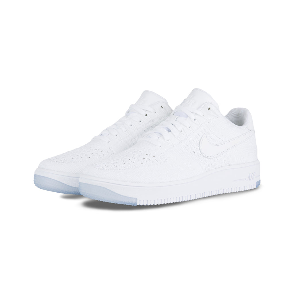 competitive price fb815 ce227 Nike - AF1 Ultra Flyknit Low (White/White-Ice)
