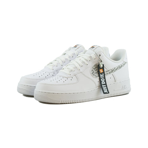 Nike - Air Force 1 '07 LV8 JDI LNTC (White/White-Black-Total Orange)