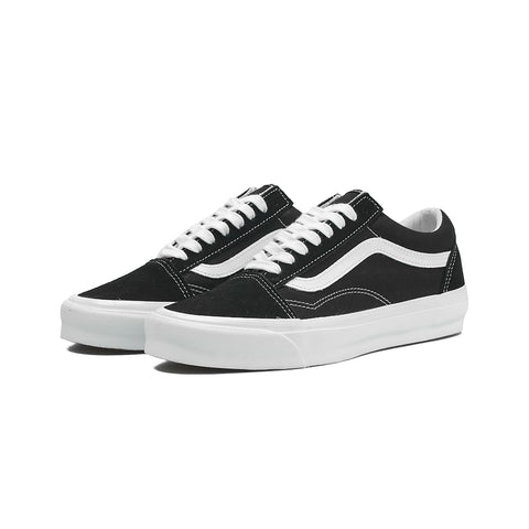 Vans - OG Old Skool Lx Suede/Canvas (Black/Trwht)