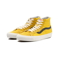 Vans - OG Sk8-Hi LX Suede/Canvas (Old Gold/Black)