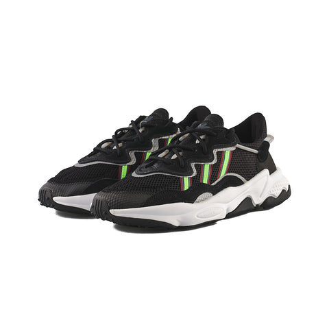 adidas Originals - Ozweego (Core Black/Solar Green/Onix)