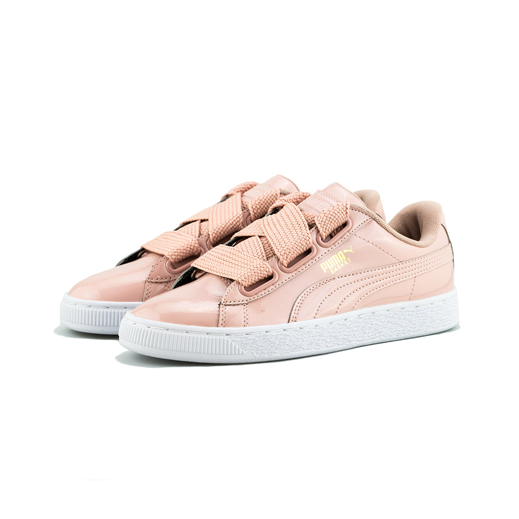 Beige Peach Beige Basket Patent Puma Heart Wn'speach 0knwON8PX