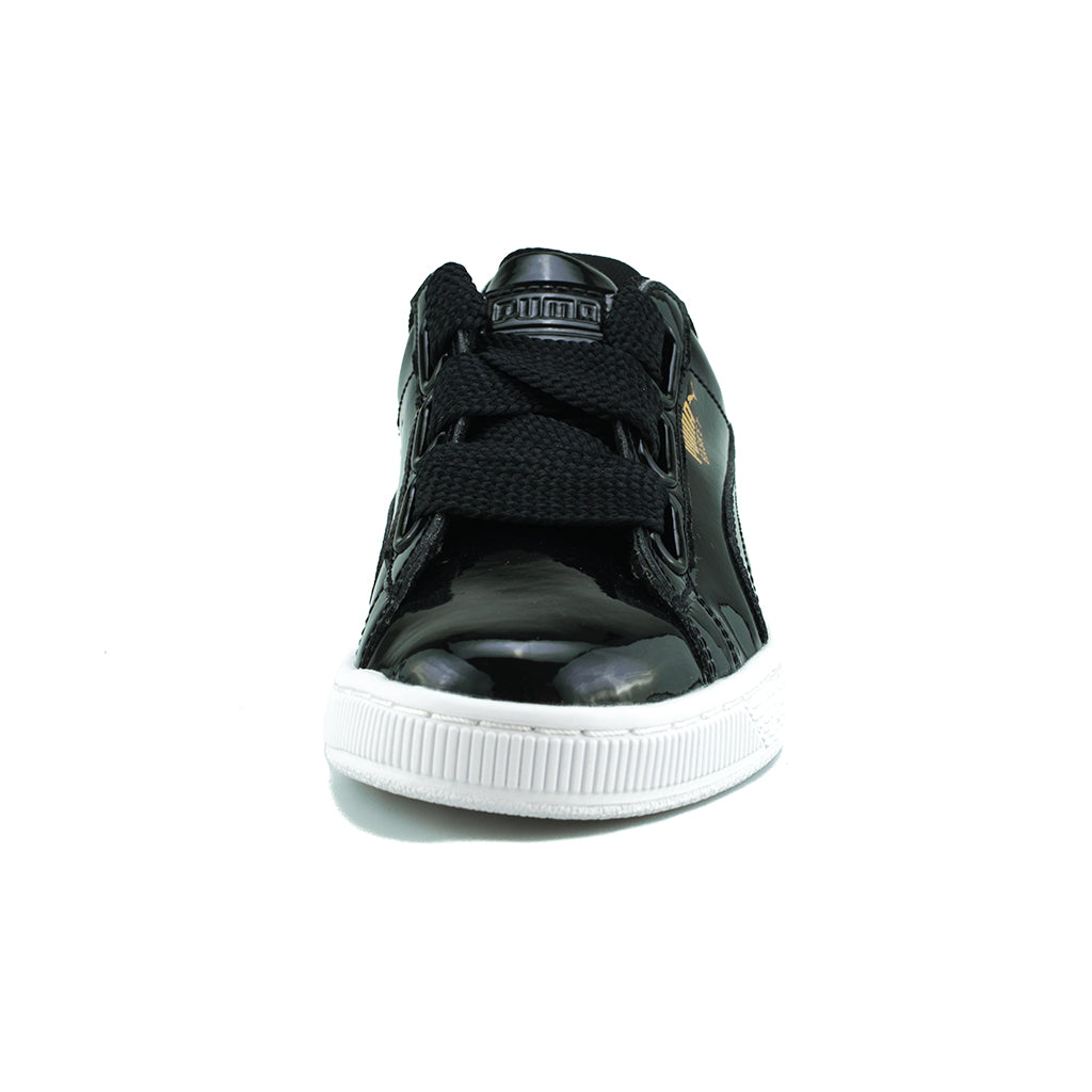 best website f8f8c 5efe0 PUMA - Basket Heart Patent Wn's (Puma Black-Puma Black)