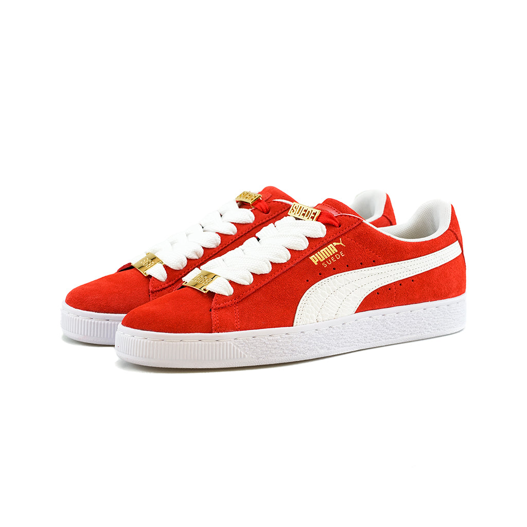 new product ec5a8 c889b PUMA - Suede Classic BBOY Fabulous (Flame Scarlet/Puma White)