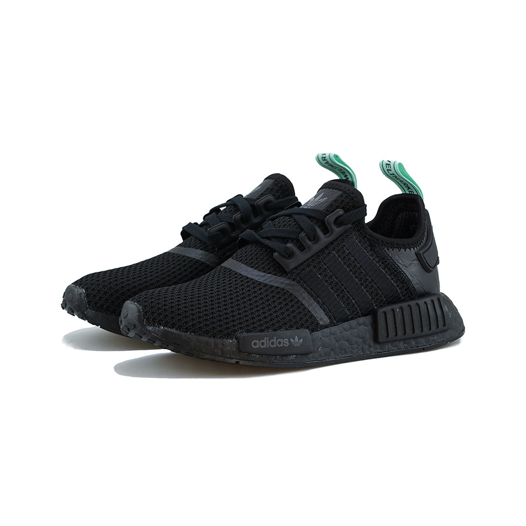 the latest 0fa78 92030 adidas Originals - NMD R1 W (Core Black Core Black Clear Mint) – amongst few