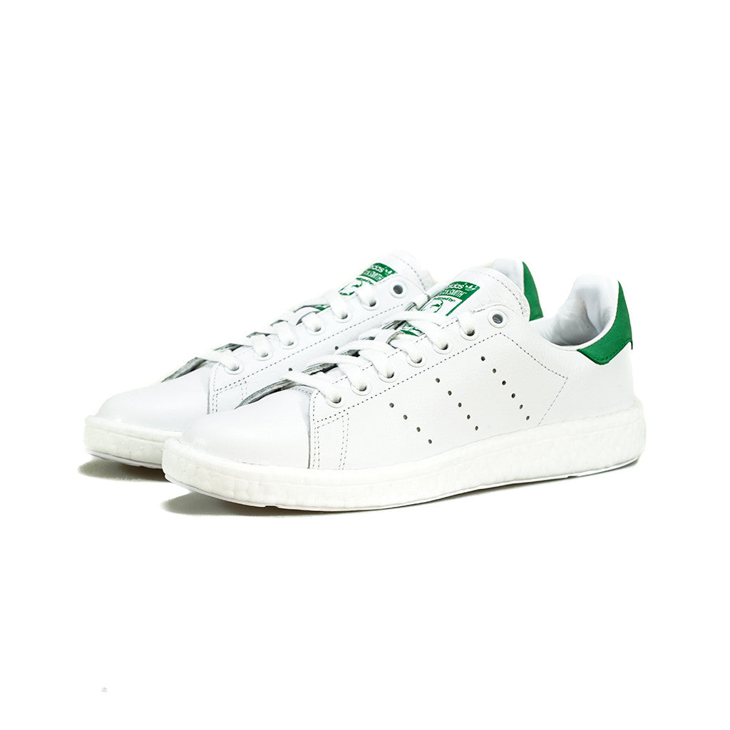 sports shoes 1151d b6779 adidas Originals - Stan Smith BOOST (White/White/Green)