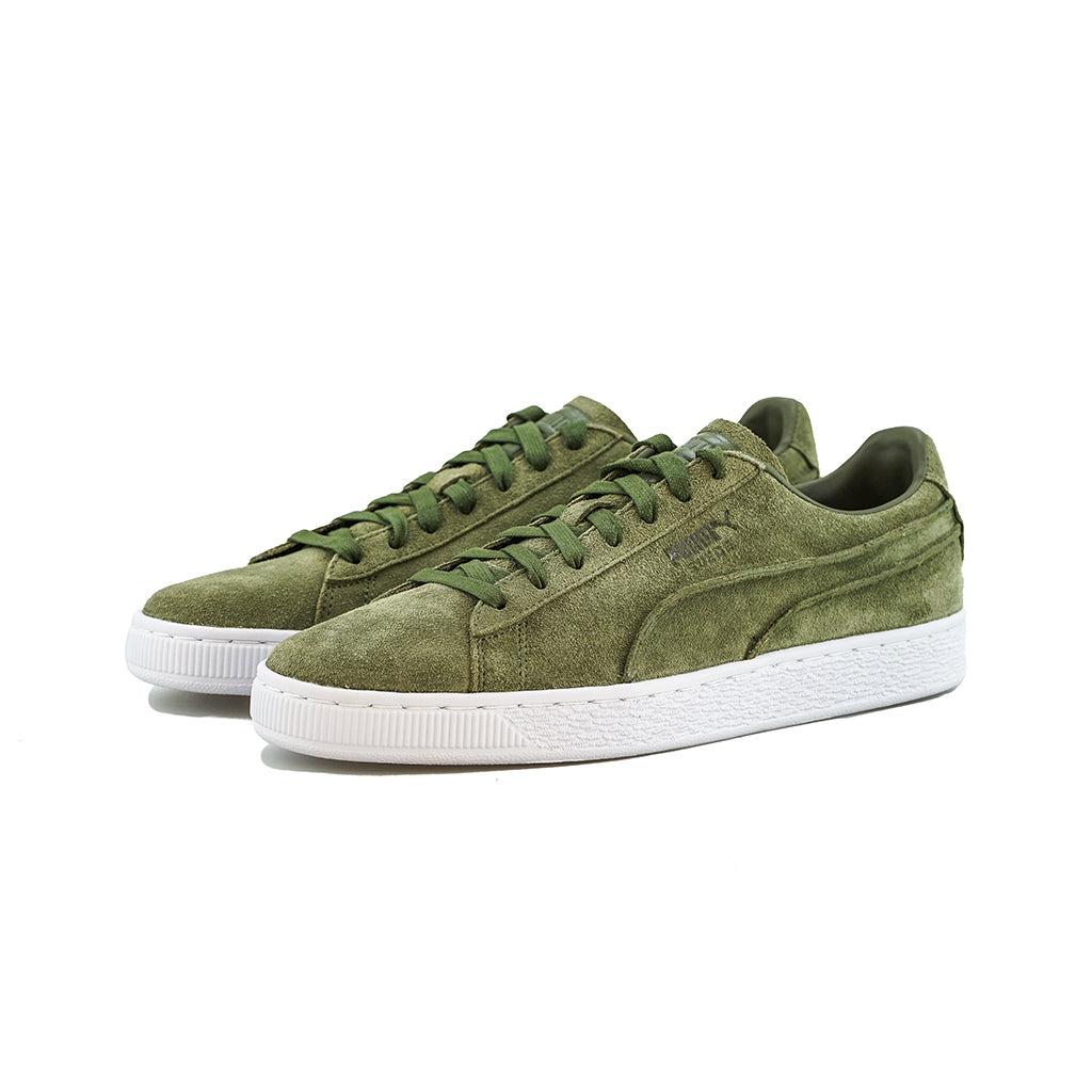 25e02f06a67 Puma - Suede Classic Exposed Seams (Capulet Olive) – amongst few