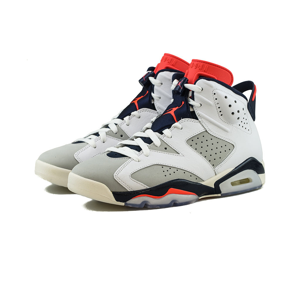 low priced 14177 1f071 Air Jordan 6 Retro (White/Infrared 23/Neutral Grey)