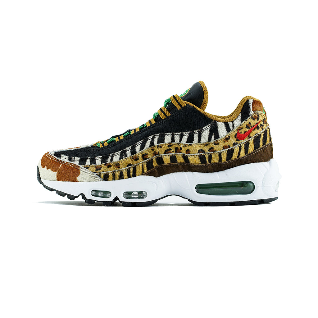 710ce21ca826 Nike - Air Max 95 DLX  Atmos Animal Pack 2.0  (Pony Sport Red-Black ...