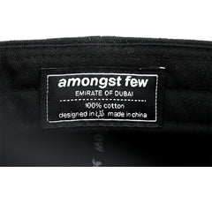 amongst few - Readymade Garments Dad Cap (Black)