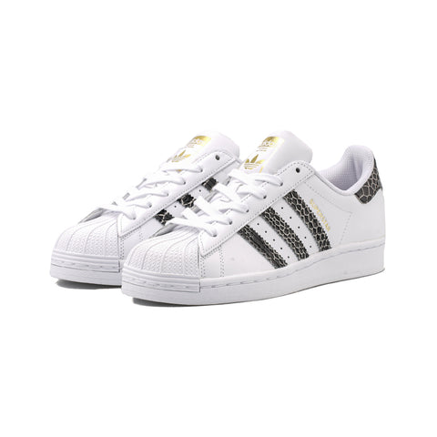 adidas Originals - Superstar W (Cloud White/Core Black/Gold Metallic)