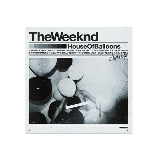 The Weeknd - House Of Balloons (LP)
