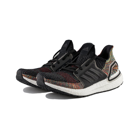 adidas - UltraBOOST 19 (Grey Six/Core Black/Shock Yellow)