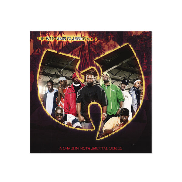 Wu-Tang Clan - The Wu-Tang Clan Classics Vol. 2: Shaolin Instrumental Series (LP)