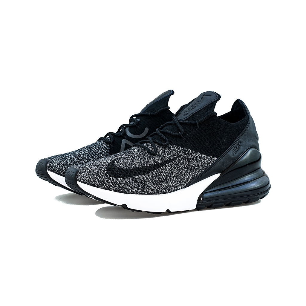 official photos 68015 803f8 Nike - Air Max 270 Flyknit (Black/Black-White)
