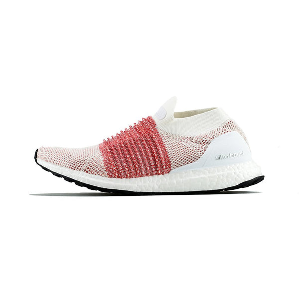 dd1552aca2a80 adidas - Ultra BOOST Laceless (White White Trace Scarlet) – amongst few
