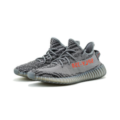 adidas - Yeezy BOOST 350 V2 (Grey/Bold-Orange/Dark Grey)