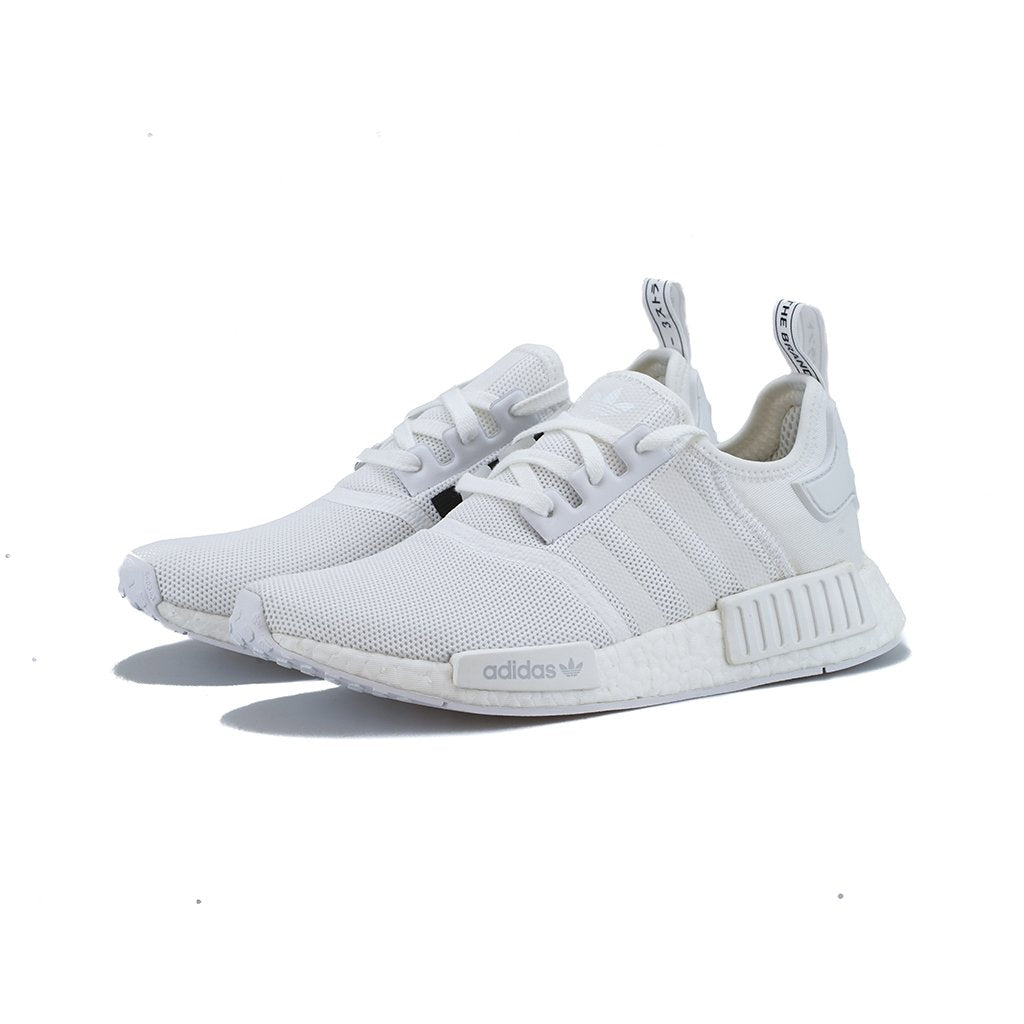 5d40e13ee328c adidas Originals - NMD R1 (White White Trace Grey Metallic) – amongst few