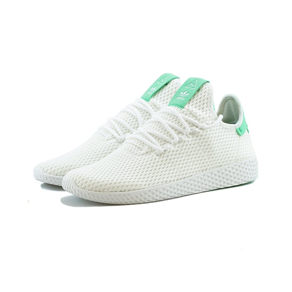7d421282f9ea0 adidas Originals - PW Tennis HU (White White Green Glow) – amongst few
