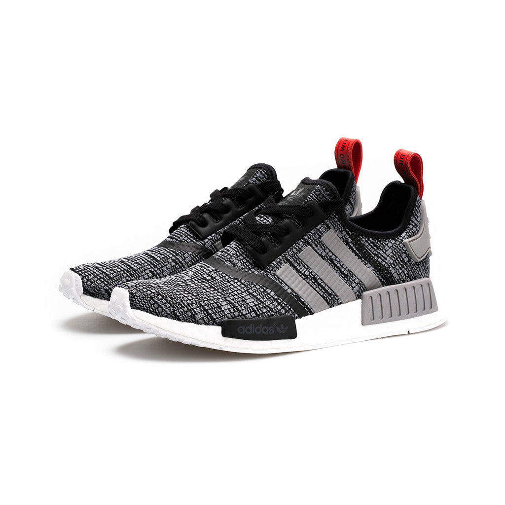c0335269e adidas Originals - NMD R1  Glitch Camo  (Core Black Solid Grey) – amongst  few