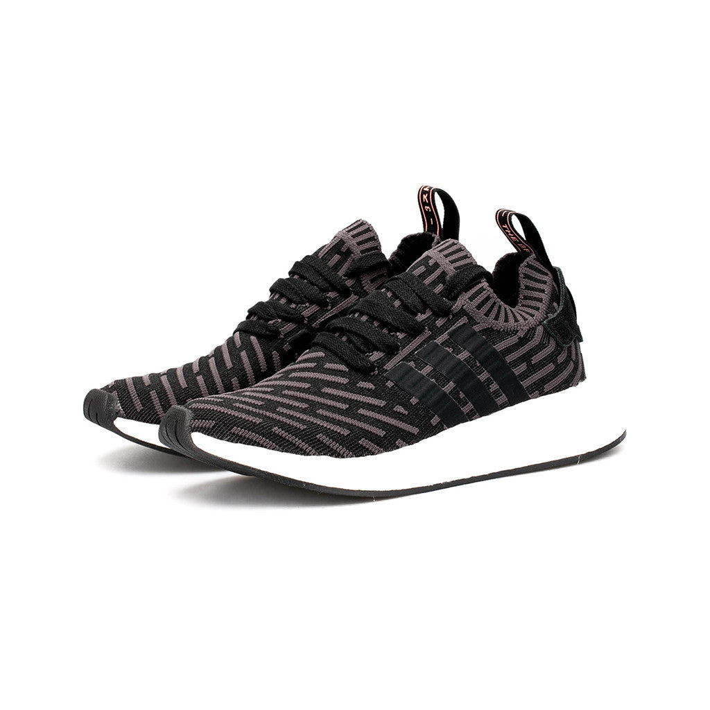 03c2798ec27bb8 adidas Originals - NMD R2 Primeknit W (Utility Black Core Black White) –  amongst few