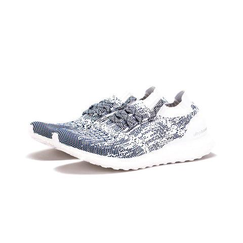 adidas - Ultra BOOST Uncaged (Non Dyed/Running White/Collegiate Navy)