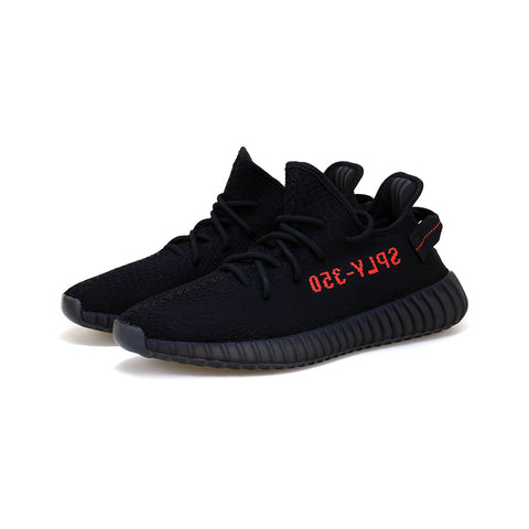 adidas - Yeezy BOOST 350 V2 (Black/Black/Red)