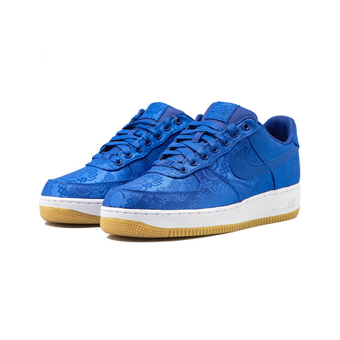 Nike - Air Force 1 PRM / CLOT (Game Royal/White)