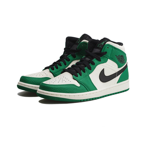 Air Jordan 1 Mid SE ( Pine Green/Black-Sail)
