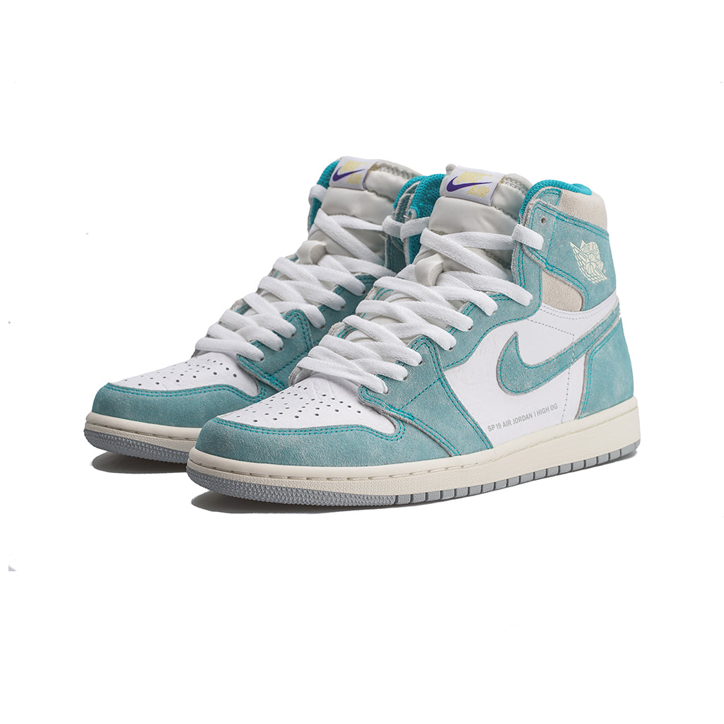 Air Jordan 1 Retro High Og Turbo Green Sail White Amongst Few