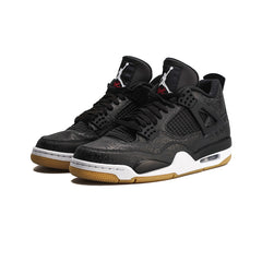 Air Jordan 4 Retro SE (Black/White-Gum Light Brown)