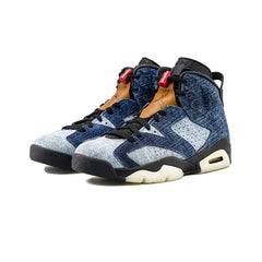 Air Jordan 6 Retro (Washed Denim/Washed Denim)