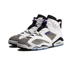 Air Jordan 6 Retro LTR (White/Dark Concord-Black)