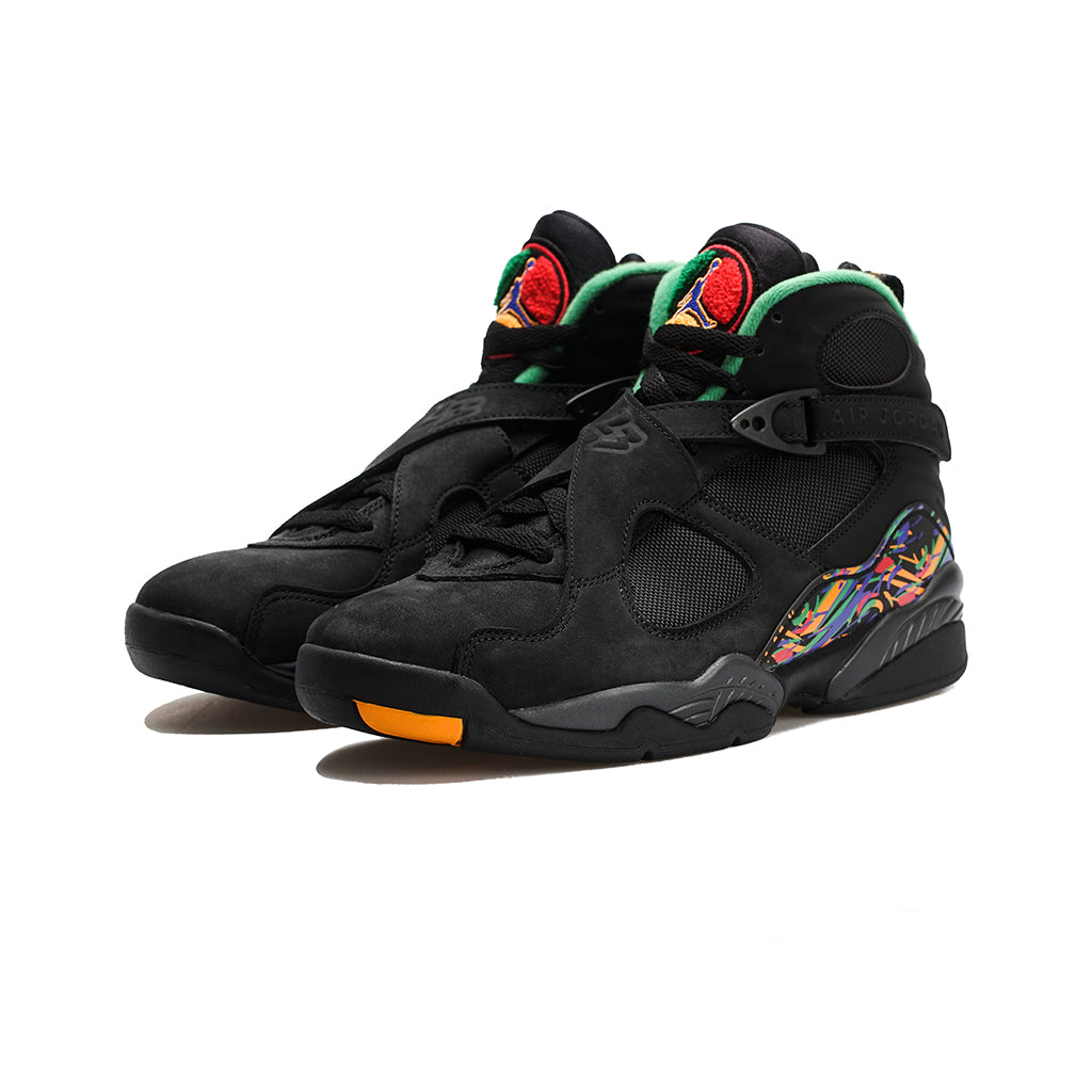 size 40 eb5ac 55580 Air Jordan 8 Retro (Black Light Concord-Aloe Verde) – amongst few