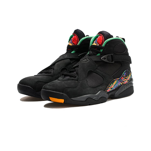 Air Jordan 8 Retro (Black/Light Concord-Aloe Verde)