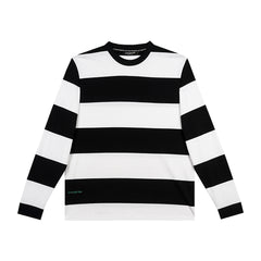 amongst few -  Tanker Long Sleeve T-Shirt (Black/White)