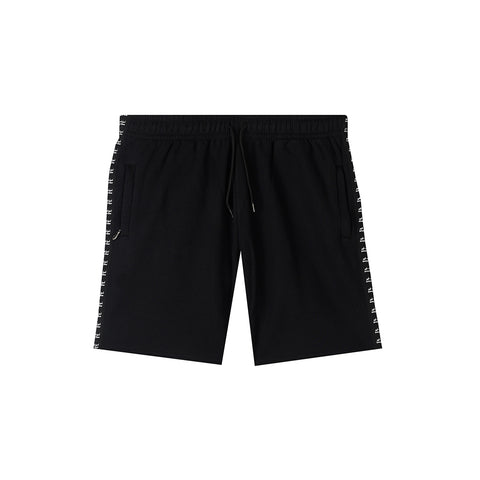 amongst few - Casual Classic Sweat Shorts (Black)