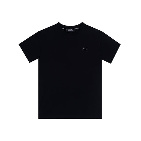amongst few - Casual Classic T-Shirt (Black)