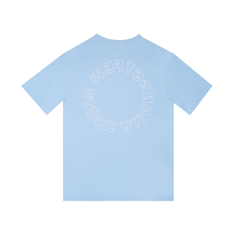 amongst few - Store T-Shirt (Light Blue)
