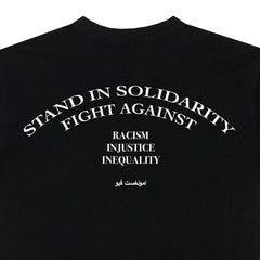 amongst few - 50 Dirham 'Awareness' Tee (Black)